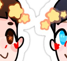 Dan & Phil Star Crown Sticker Pack Sticker