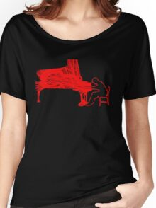 Gleen Gould's handmade exclusive design by InspiringPeople Women's Relaxed Fit T-Shirt