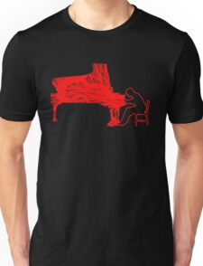 Gleen Gould's handmade exclusive design by InspiringPeople Unisex T-Shirt