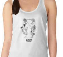 Floral Constellation - Libra Women's Tank Top