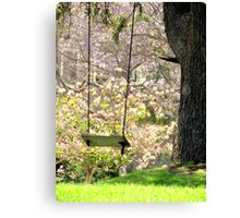 Close Your Eyes and Your There Canvas Print