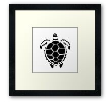 Black Sea Tortoise Shell Framed Print