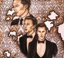 Benedict Cumberbatch - 221B Is Burning by WhatIfIAmInsane