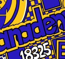 Canadensis Collage Sticker