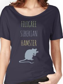 Filigree Siberian Hamster Women's Relaxed Fit T-Shirt