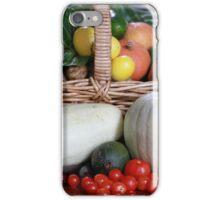 Basket of Vegetables iPhone Case/Skin