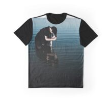 Inky Stillness Graphic T-Shirt