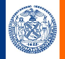 New York City Flag Sticker