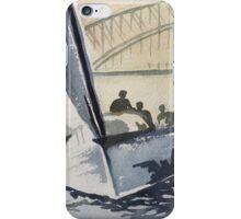 Sailing Sydney Harbour iPhone Case/Skin