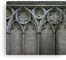 Gothic Wall Canvas Print