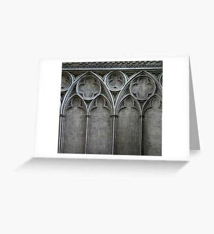 Gothic Wall Greeting Card