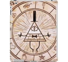 bill cipher spell iPad Case/Skin