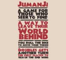 Jumanji's Rules by Pierpazzo89