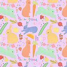 Bunny Pattern by CarlyWatts
