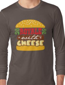 Pulp Fiction - Royale with cheese Long Sleeve T-Shirt