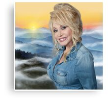 dolly parton poster Canvas Print