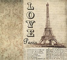 Love Paris in Sepia by claryce84