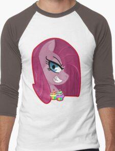 Pinkamena Diane Pie Men's Baseball ¾ T-Shirt