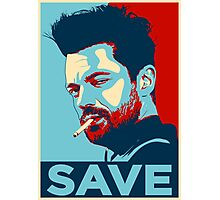 JESSE CUSTER SAVE Photographic Print