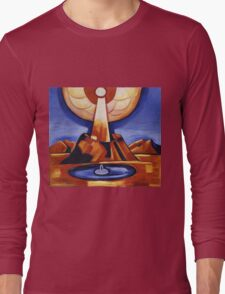 Marsden Hartley - Yliaster (Paracelsus). Abstract painting: abstract art, geometric, expressionism, composition, lines, forms, creative fusion, spot, shape, illusion, fantasy future Long Sleeve T-Shirt
