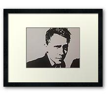 Handpainted Tom Hiddleston Framed Print