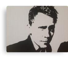 Handpainted Tom Hiddleston Canvas Print