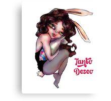 Bunny Bomb Canvas Print