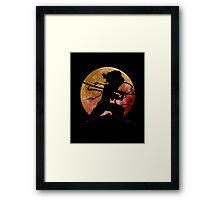 Afro Sword Slasher Framed Print