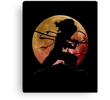 Afro Sword Slasher Canvas Print