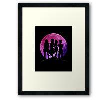 Black Fairy Framed Print