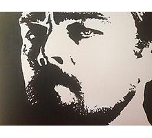Handpainted Leo DiCaprio Photographic Print