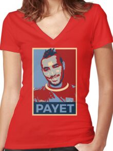 Dimitri Payet Women's Fitted V-Neck T-Shirt