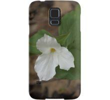 Spring Forest Walk Treasures - White Trillium Flower Samsung Galaxy Case/Skin