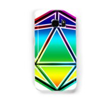 Dungeons and Dragons Pride Dice Samsung Galaxy Case/Skin