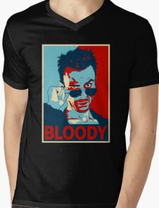 CASSIDY BLOODY Mens V-Neck T-Shirt