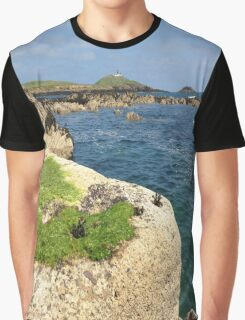 Ballycotton Lighthouse, Co. Cork, Ireland Graphic T-Shirt