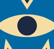 monster university logo Sticker