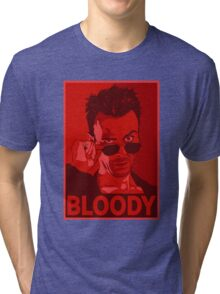 CASSIDY BLOODY RED Tri-blend T-Shirt