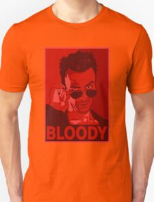 CASSIDY BLOODY RED Unisex T-Shirt