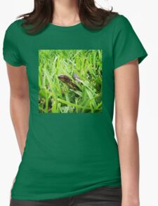 Beware Of Tiny Slithers Womens Fitted T-Shirt