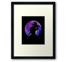 Fullmetal Shadow Framed Print