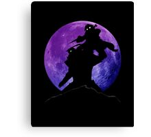 Fullmetal Shadow Canvas Print