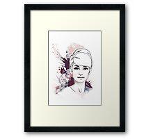 Audrey#4 Framed Print