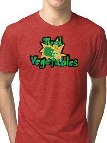 Tired Vegetables Tri-blend T-Shirt