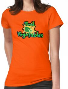 Tired Vegetables Womens Fitted T-Shirt