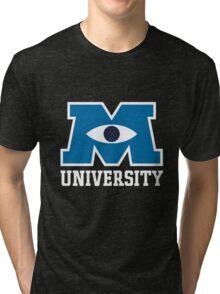 monster university Tri-blend T-Shirt