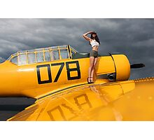 Harvard T6 Texan 078 Photographic Print