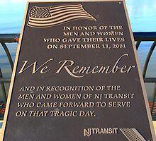 NJ Transit's 9/11 Memorial Hoboken NJ by pmarella