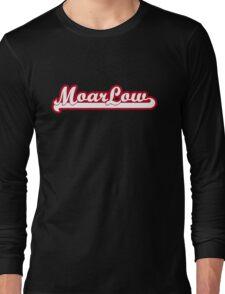 MoarLow (red) Long Sleeve T-Shirt