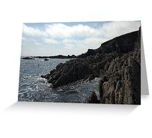 Ballycotton Rocks, Co. Cork, Ireland Greeting Card